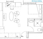 Chaucer Building, City Centre (T0U), 1 bed Apartment / Flat in City Centre-image-5